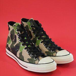 Converse Chuck 70 Hi CAMO Sneaker 163407C NWT